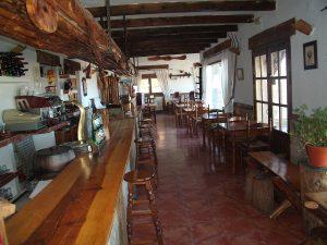 Restaurante Las mendrosas en Cuenca (Buenache de la Sierra)